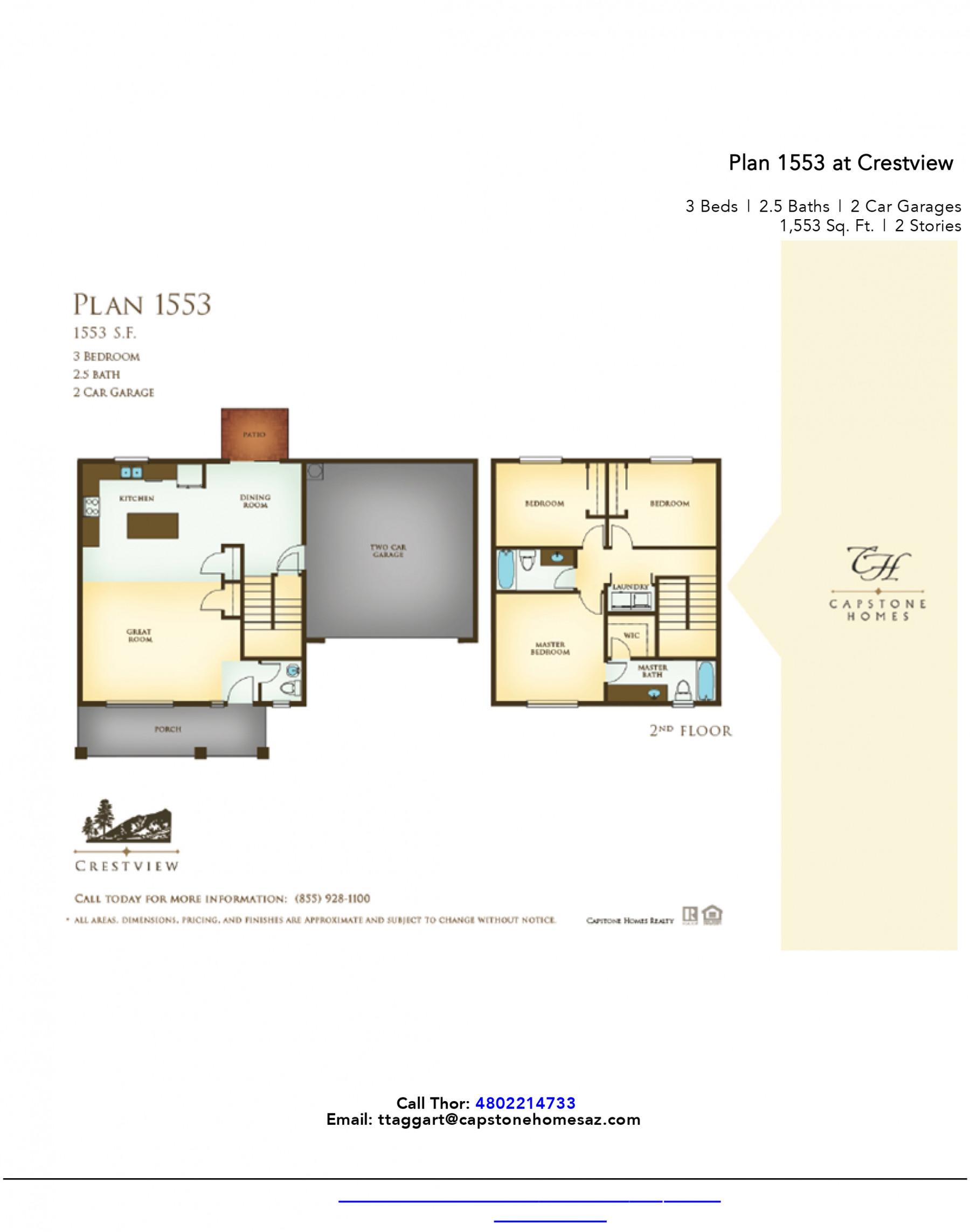 Crestview Plan 1553